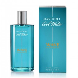 DAVIDOFF COOL WATER WAVE EDT 125ML SPRAY
