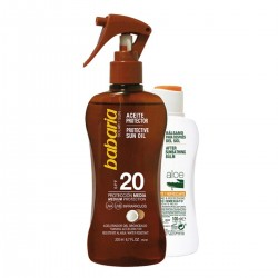 BABARIA COCO ACEITE SPF20 200ML + ALOE VERA AFTER SUN 100ML