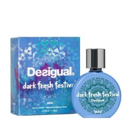 DESIGUAL DARK FRESH 50ML EDT SPRAY FESTIVAL