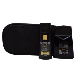 GOLD TEMPTATION EDT SPRAY 100ML + DESODORANTE EN SPRAY 150ML + NECESER