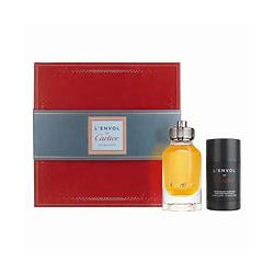 CARTIER L ENVOL EDP 80ML + DESODORANTE STICK 75GR