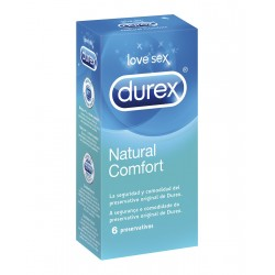 DUREX NATURAL PLUS 6UNI
