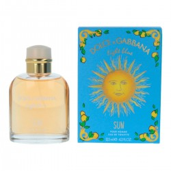 DOLCE GABBANA LIGHT BLUE SUN AND POUR HOMME EDT 125ML SPRAY
