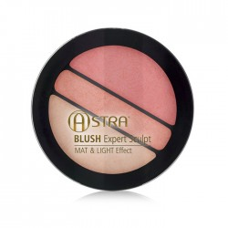 ASTRA BLUSH EXPERT SCULPT MAT Y LIGHT EFFECT 01 TEA ROSE