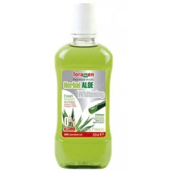 FORAMEN ENJUAGUE BUCAL HERBAL ALOE 500ML