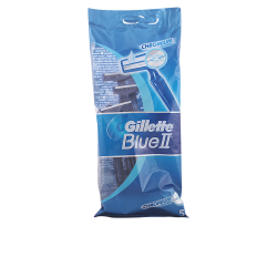 BLUE II CHROMIUM COATING RAZOR BLAOF SHAVING DESECHABLE 5 RAZOR BLADES