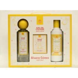 AGUA COLONIA SPRAY 300ML SETS + LOCION 300ML + TOALLITAS PERFUMADAS