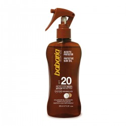 BABARIA COCO ACEITE SPF20 PROTECCION MEDIA 200ML