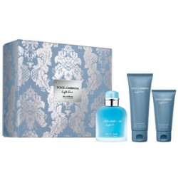 LIGHT BLUE MEN INTENSE EDP 100ML + GEL DUCHA 50ML + BALSAMO AFTER SHAVE 75ML