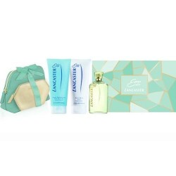 EAU LANCASTER EDT SPRAY 125ML + LOCION CORPORAL 200ML + GEL DUCHA 200ML