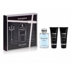 BOUCHERON QUATRE HOMME EDT 100ML + GEL DUCHA 100ML + AFTER SHAVE 100ML