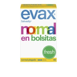 SALVA-SLIP NORMAL FRESH EN BOLSITAS 40 UNIDADES