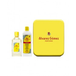 ALVAREZ GOMEZ AGUA COLONIA CONCENTRADO 300ML LATA + EMULSION HIDRATANTE 460ML