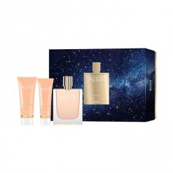 HUGO ALIVE EDP SPRAY 80ML + LOCION CORPORAL 75ML + GEL 50ML