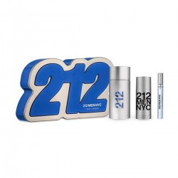 212 MEN EDT 100ML + AFTER SHAVE GEL 100ML + MINIATURA