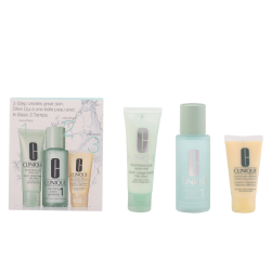 3 STEPS INTRO PIEL TYPE I JABON LIQUIDO FACIAL 50ML + LOCION CLARIFICANTE 100ML + DRAMATICALLY DIFFERENT LOCION/GEL 30ML