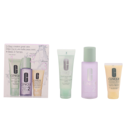 3 STEPS INTRO HAUT TYPE II 3 SOAP FLUSSIGKEIT GESICHTS 50ML + LOTION CLARIFICANTE 100ML + DRAMATICALLY DIFFERENT LOTION/GEL 30ML