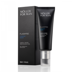 FOR MAN FLASHTEC LOOKING GOOD LIGHTLY TINTED HIDRATANTE GEL 50ML