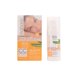 ALOE VERA COLOR CC CREMA SPF20 50ML