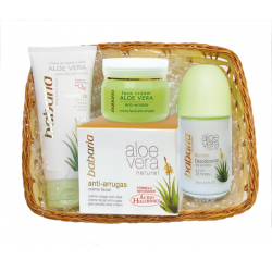 ALOE VERA CREMA 50ML + DESODORANTE ROLL ON 75ML + CREMA MANOS 100ML