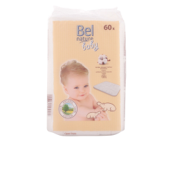 NATURE BABY COTTON PADS OF BEBE 60 UNITS
