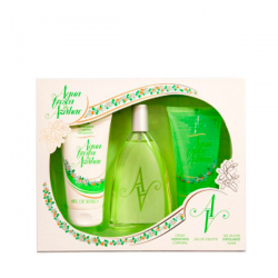 AGUA AZAHAR AGUA FRESCA DE AZAHAR EDT 150ML + GEL EXFOLIANTE 150ML + LOCION CORPORAL 150ML