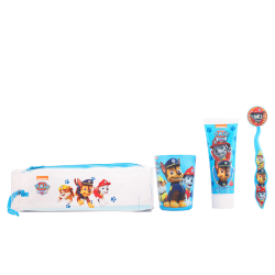 PATRULLA CANINA CASE + GLASS + TOOTHPASTE + BRUSHE TOOTH WITH CAPUCHON
