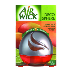 AIR-WICK DECO SPHERE AMBIENTADOR MANGO LIMA 75ML