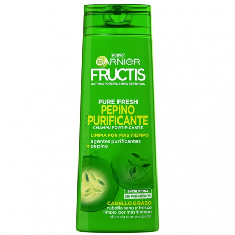FRUCTIS PURE SHAMPOO 360ML FRESH CUCUMBER PURIFICANTE