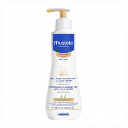 MUSTELA BABY CLEANSING GEL NOURISHING DRY SKIN 300ML