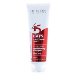 45 DAYS CONDITIONING CHAMPU FOR BRAVE REDS 275ML