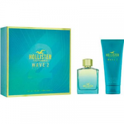 HOLLISTER WAVE 2 FOR HIM EDT 100ML SHOWER GEL +