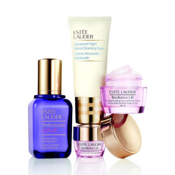 ESTEE LAUDER PERFECTIONIST SERUM FIRMING NECK CREAM 50ML + 15ML + EYE CREAM 5ML + 30ML FOAM CLEANSING