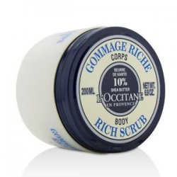 OCCITANE SHEA BUTTER SCRUB 200ML RICH