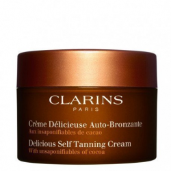 CLARINS 125ML SELF-TANNING CREAM DELICIOUS