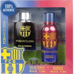 FC BARCELONA EDT SPRAY 100ML + DEODORANT SPRAY 150ML