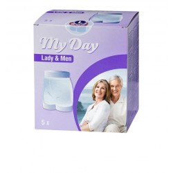 MY DAY MESH SIZE FIXING UNISEX L 5 UNITS