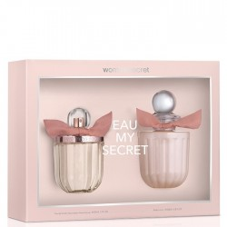 EAU MY SECRET EDT SPRAY 100ML + BODY LOTION 200 ML