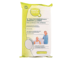 DAILY COMFORT WIPES HUMEDAS BODYES 20 UNITS