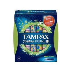 PEARL TAMPAX TAMPON SUPER 24 UNITS