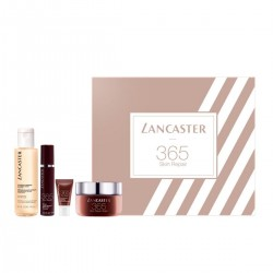 365 LANCASTER SKIN REPAIR CREAM 50ML + SERUM 10 ML + AUGENCREME 3ML + REINIGUNGS 100ML