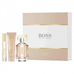 HUGO BOSS THE SCENT FOR HER EDP 50ML + 50ML + PERFUMED BODY LOTION SPRAY 7,4ML