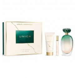 A DOMINGUEZ UNICA 100ML EDT SPRAY + BODY LOTION 75ML + 10ML EDT