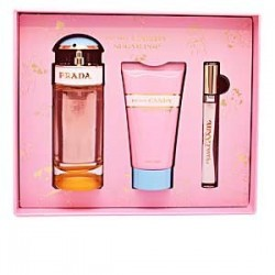 SUCRE CANDY POP PRADA EDP SPRAY 80ML + LOTION POUR LE CORPS 75ML + EDP ROLL-ON LC10