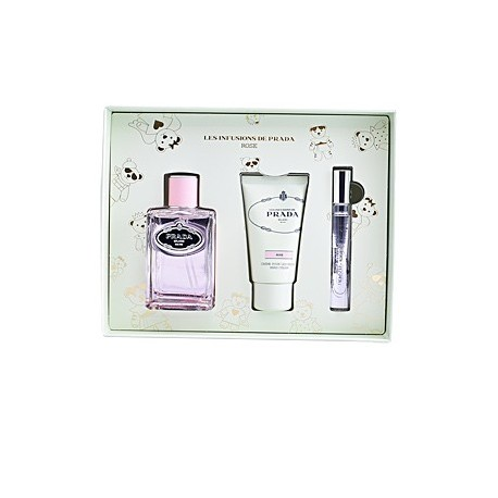 INFUSION ROSE EDP SPRAY 100ML + CREMA MANOS 50ML + EDP ROLL-ON 10ML
