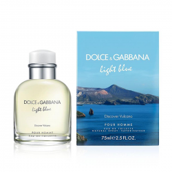 LIGHT BLUE DISCOVER VULCANO POUR HOMME EDT 75ML